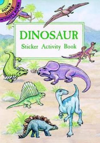 A. G. Smith Dinosaur Sticker Activity Book