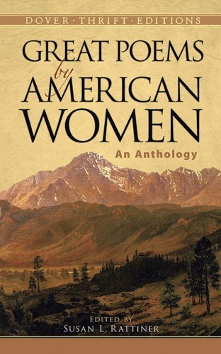 Susan L. Rattiner Great Poems By American Women An Anthology