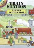 A. G. Smith Train Station Sticker Activity Book