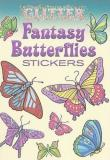 Jessica Mazurkiewicz Glitter Fantasy Butterflies Stickers [with Sticker