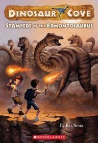 Rex Stone Stampede Of The Edmontosaurus