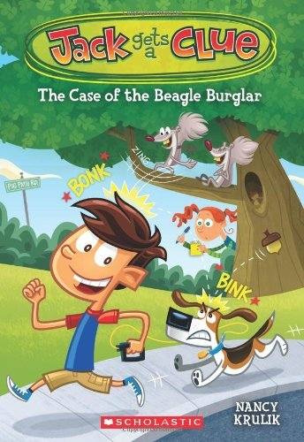 Nancy Krulik Jack Gets A Clue #1 The Case Of The Beagle Burglar