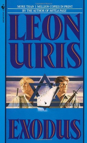 Leon Uris Exodus A Novel Of Israel