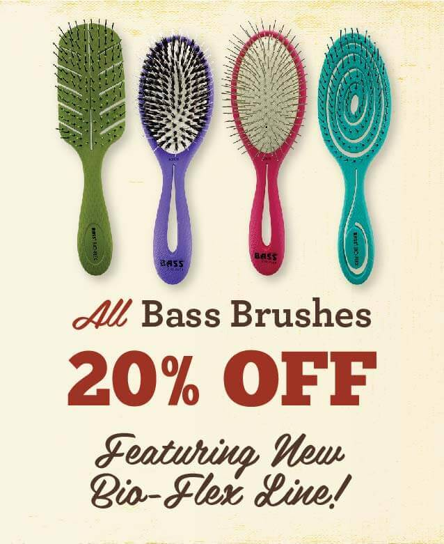 Bass Brushes - 20% Off