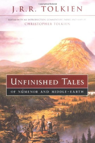 J. R. R. Tolkien Unfinished Tales Of Numenor And Middle Earth