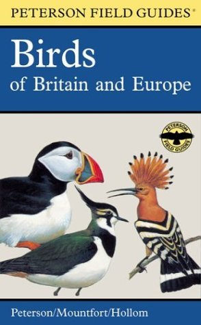 Roger Tory Peterson A Field Guide To The Birds Of Britain And Europe 0005 Edition;