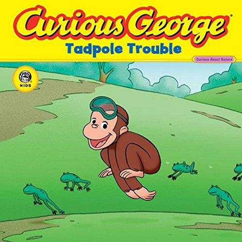H. A. Rey Curious George Tadpole Trouble Curious About Living Things