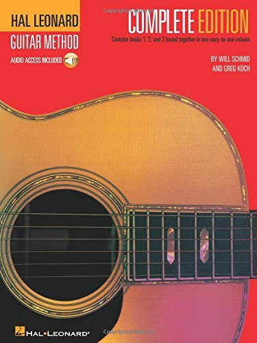 Will Schmid Hal Leonard Guitar Method Complete Edition Books 1 2 And 3 Bound Together In One Easy To Us