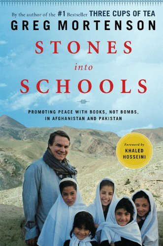 Greg Mortenson Stones Into Schools Promoting Peace With Books Not Bombs In Afghani