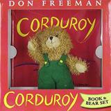 Don Freeman Corduroy [with Plush Bear]