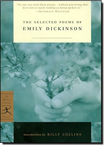 Emily Dickinson The Selected Poems Of Emily Dickinson