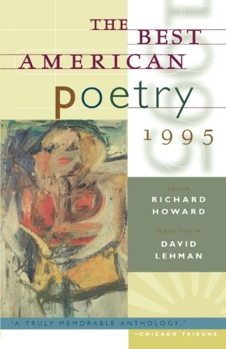 David Lehman Best American Poetry 1995