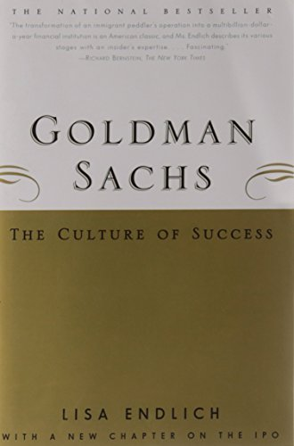Lisa Endlich Goldman Sachs The Culture Of Success
