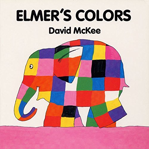 David Mckee Elmer's Colors Board Book
