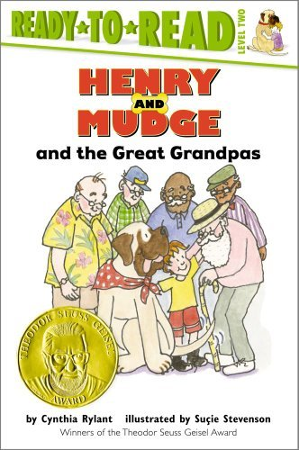 Cynthia Rylant Henry And Mudge And The Great Grandpas Reprint