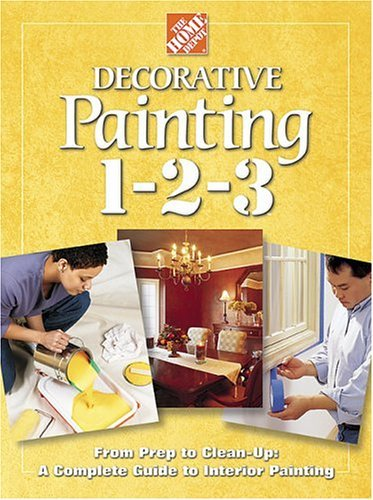 John Holms Home Depot Books Decorative Painting 1 2 3