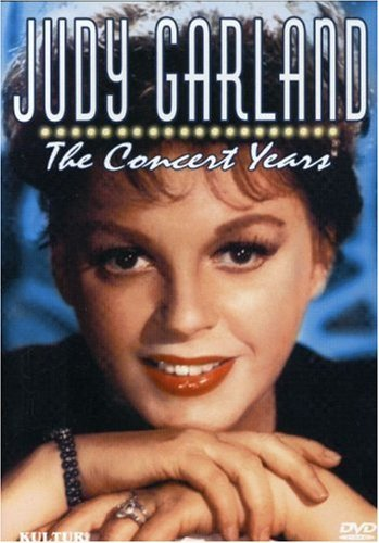 Judy Garland The Concert Years Garland Judy Clr Bw Nr