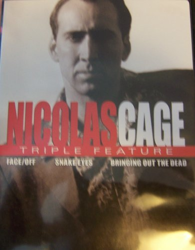 Nicolas Triple Feature Cage Face Off Snake Eyes Bringing Out The Dead.
