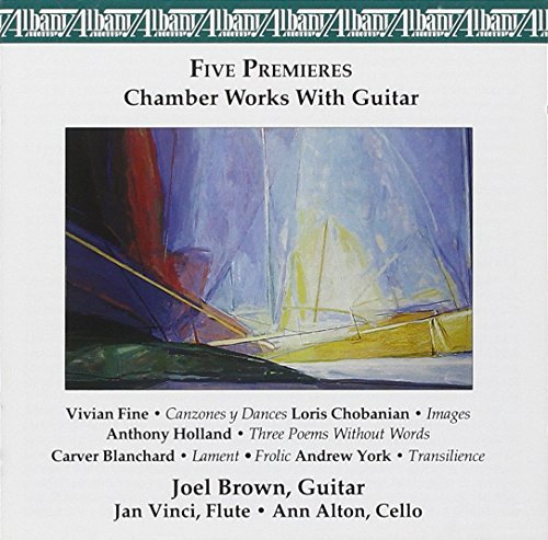 Blanchard Chobanian Fine Chamber Works With Guitar Brown Vinci Alton