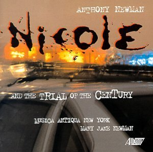 Anthony Newman Nicole & The Trial Of The Cent Musica Antiqua Ny