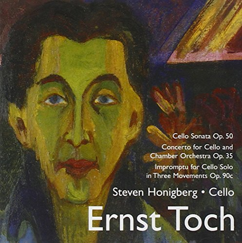 Ernst Toch Music For Cello Honiberg (vc) Brake (pno) Alimena Eclipse Co