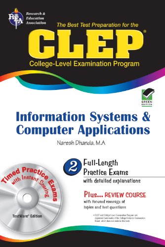 Naresh Dhanda Clep Information Systems And Applications W CD Rom