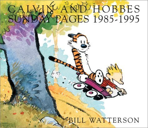 Bill Watterson Calvin And Hobbes Sunday Pages 1985 1995 Original