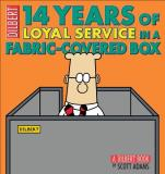 Scott Adams 14 Years Of Loyal Service In A Fabric Covered Box