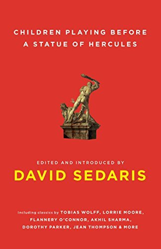 David Sedaris Children Playing Before A Statue Of Hercules