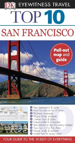 Jeffrey Kennedy Top 10 San Francisco [with Fold Out Map]