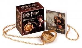 Running Press Harry Potter Time Turner And Sticker Kit [with Sticker Book]