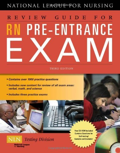 Emily Ekle Review Guide For Rn Pre Entrance Exam [with Cdrom] 0003 Edition;