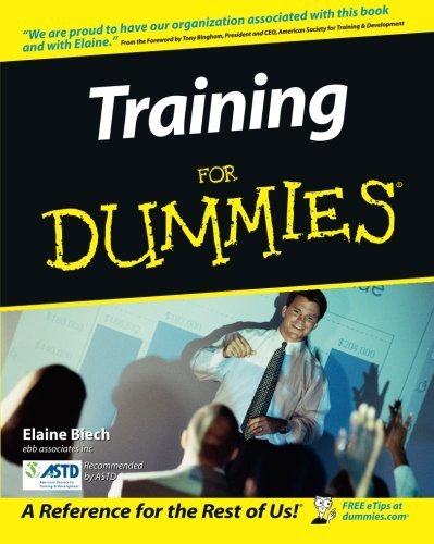 Elaine Biech Training For Dummies