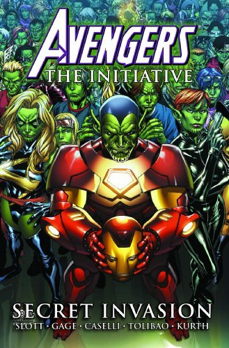 Dan Slott Avengers The Initiative Volume 3 Secret Invasion