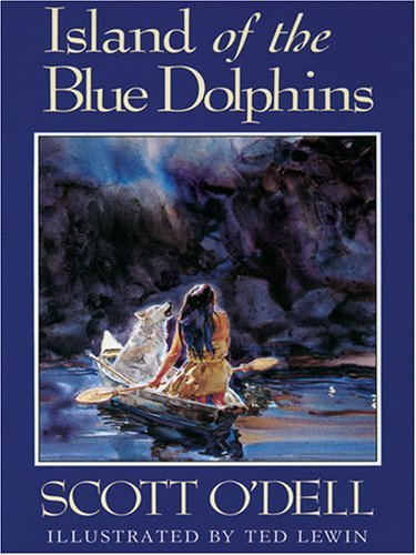Scott O'dell Island Of The Blue Dolphins Large Print