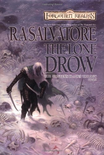 r-a-salvatore-lone-drow-forgotten-realms-the-hunters-blad