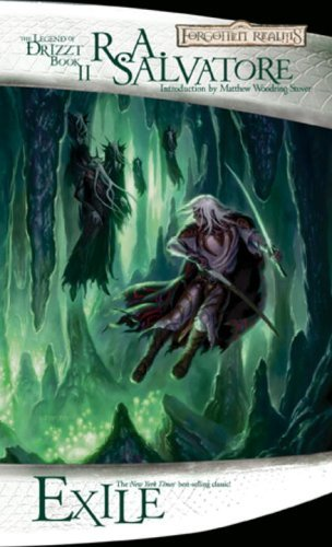 R. A. Salvatore Exile The Legend Of Drizzt Book Ii