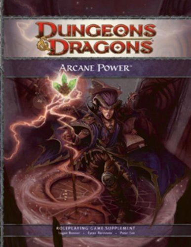 Logan Bonner Arcane Power