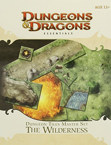 Wizards Rpg Team Dungeon Tiles Master Set The Wilderness Essential Dungeons & Dragons Tiles