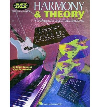 Carl Schroeder Harmony And Theory Essential Concepts Series