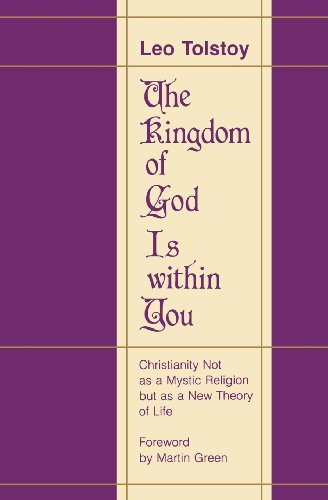 Leo Nikolayevich Tolstoy The Kingdom Of God Is Within You