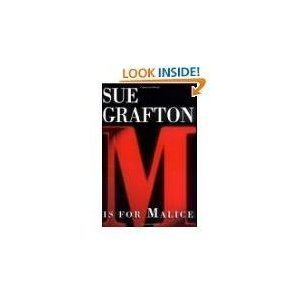 Sue Grafton M Is For Malice Kinsey Millhone Alphabet Mystery