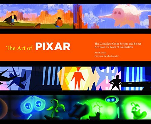 Amid Amidi The Art Of Pixar The Complete Colorscripts And Select Art From 25