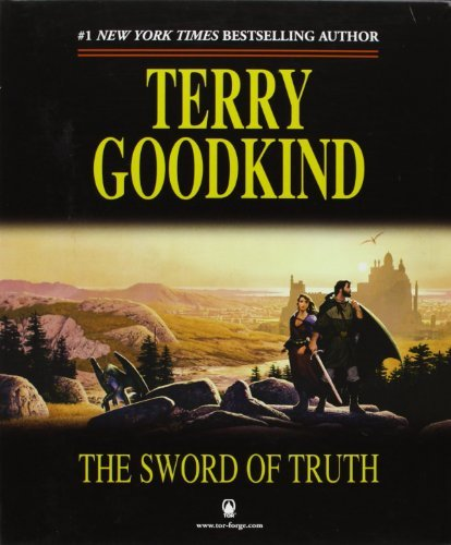 Terry Goodkind The Sword Of Truth Boxed Set I Books 1 3 Wizard's First Rule Stone Of Tears Blood Of The