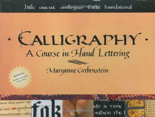 Maryanne Grebenstein Calligraphy A Course In Hand Lettering