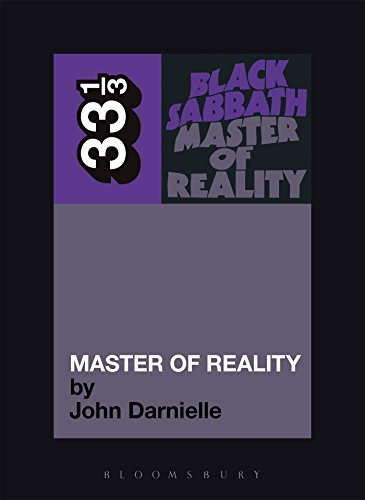 John Darnielle Black Sabbath's Master Of Reality 33 1 3