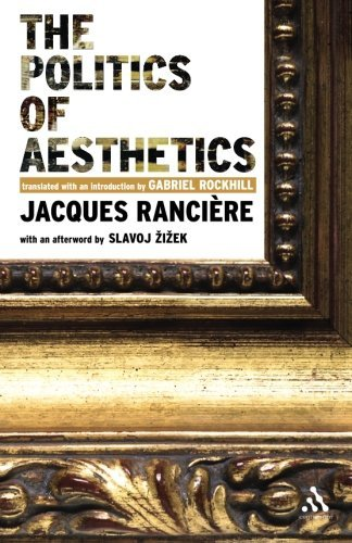 Jacques Ranciere The Politics Of Aesthetics The Distribution Of The Sensible