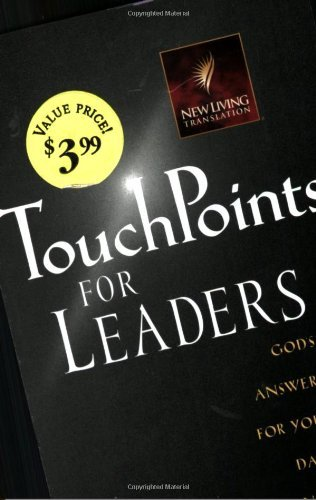 Ron Beers Touchpoints For Leaders God's Wisdom For Leading In Life Family Work A