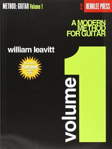 William Leavitt A Modern Method For Guitar Volume 1 Guitar Technique