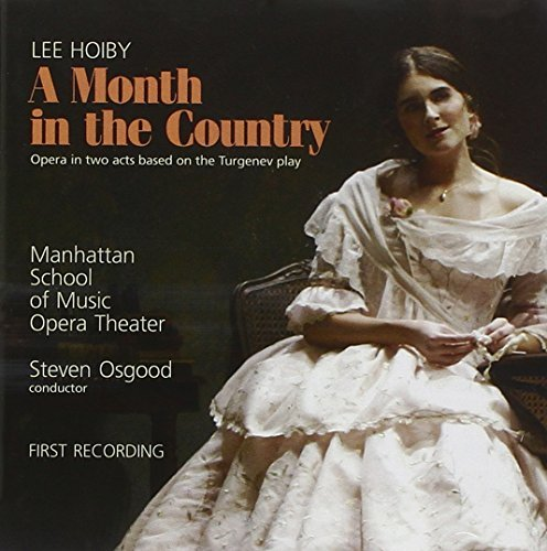Lee Hoiby Month In The Country 2 CD Winans Temkey Osgood Manhattan School Of Mus